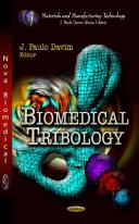 Biomedical Tribology