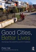 Good Cities, Better Lives