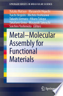 Metal   Molecular Assembly for Functional Materials Book