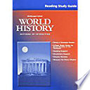 World History-Patterns of Interaction, Grades 9-12 Reading Study Guide