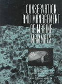 Conservation and Management of Marine Mammals Book