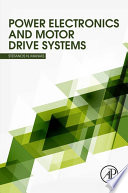 Power Electronics And Motor Drive Systems Book PDF