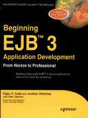 Beginning EJB 3 Application Development  From Novice to Professional