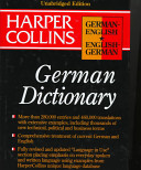 HarperCollins German English English German Unabridged Dictionary 3e