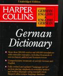 HarperCollins German English English German Unabridged Dictionary 3e