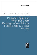 Personal Injury and Wrongful Death Damages Calculations