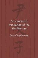 An Annotated Translation of the Yin Wen-Tzu