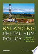 Balancing Petroleum Policy