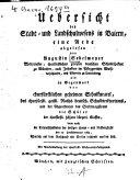 Übersicht des Stadt- und Landschulwesens in Baiern: eine ...