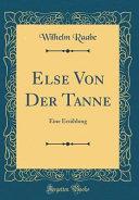 Else Von Der Tanne
