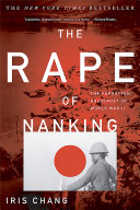 The Rape Of Nanking Book