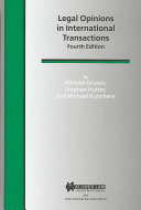 Legal Opinions in International Transactions
