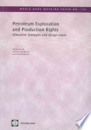 Petroleum Exploration and Production Rights