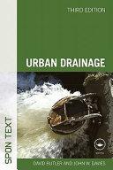 Urban Drainage, Third Edition