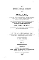 Pdf An Ecclesiastical History of Ireland