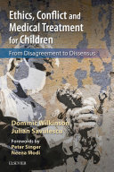 Pdf Ethics, Conflict and Medical Treatment for Children E-Book