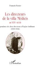 Pdf Directeurs de la villa Médicis au XIXe siècle Telecharger