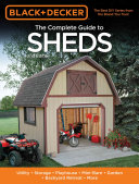 Black   Decker The Complete Guide to Sheds  2nd Edition