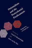 Orientalism and the Postcolonial Predicament