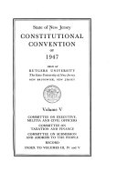 Constitutional Convention of 1947