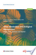 Urban Metabolism and Ecological Management