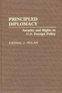 Principled Diplomacy