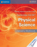 Books - Cambridge Igcse� Physical Science Chemistry Workbook | ISBN 9781316633519