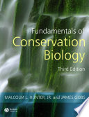 Fundamentals of Conservation Biology Book