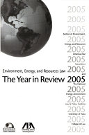 Environment  Energy  and Resources Law