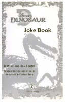 Disney s Dinosaur Joke Book