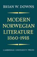 Modern Norwegian Literature 1860-1918