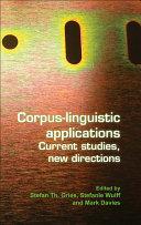 Corpus linguistic Applications