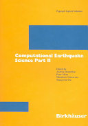 Computational earthquake science. 2 ebook