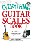 The Everything Guitar Scales Book With Cd Book