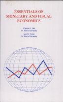 Essentials of Monetary and Fiscal Economics