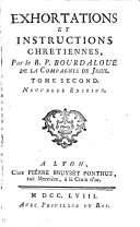 Sermons [and] Exhortations et instructions chrétiennes