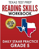 Texas Test Prep Reading Skills Workbook Daily Staar Practice Grade 5