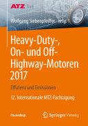 Heavy Duty   On  und Off Highway Motoren 2017