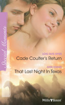 Cade Coulter's Return/That Last Night In Texas