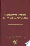 Collected Papers On Wave Mechanics Third Edition