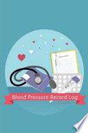 Blood Pressure Record Log
