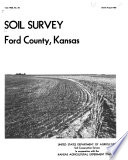 Soil Survey of Ford County  Kansas