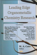 Leading Edge Organometallic Chemistry Research