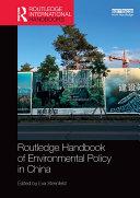 Routledge Handbook of Environmental Policy in China [Pdf/ePub] eBook