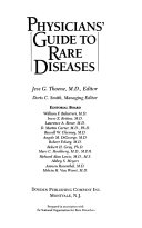 Physicians' Guide to Rare Diseases