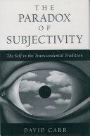 The Paradox of Subjectivity