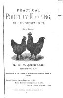 Practical Poultry Keeping, as I Understand it