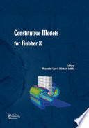 Constitutive Models for Rubber X