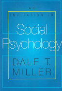 An Invitation to Social Psychology