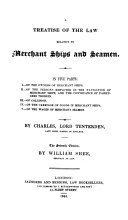 A Treatise of the Law Relative to Merchant ships and Seamen